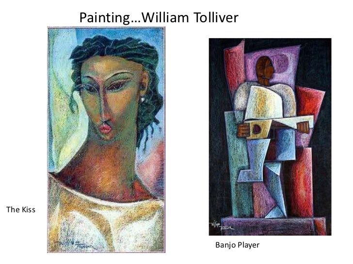 Painting…William TolliverThe Kiss                                Banjo Player