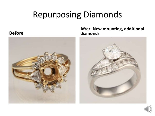 Jewelry box blues jewelry redesign concepts for Ideas for redesigning wedding rings