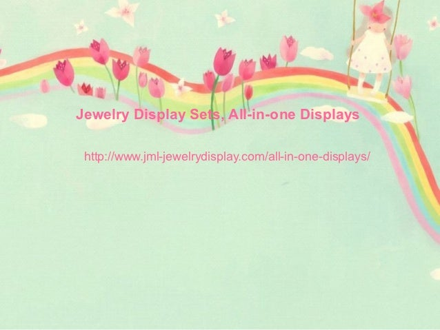 Jewelry Display Sets, All-in-one Displays http://www.jml-jewelrydisplay.com/all-in-one-displays/