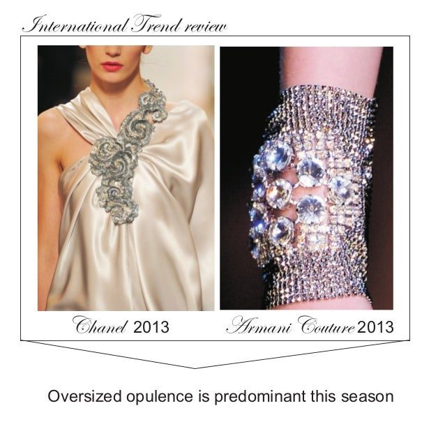 Jewellery macro trends in india 2014 - (included precious Jewels global direction) Slide 2