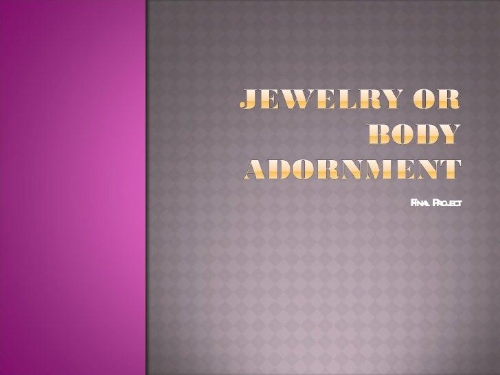 Jewelry power point