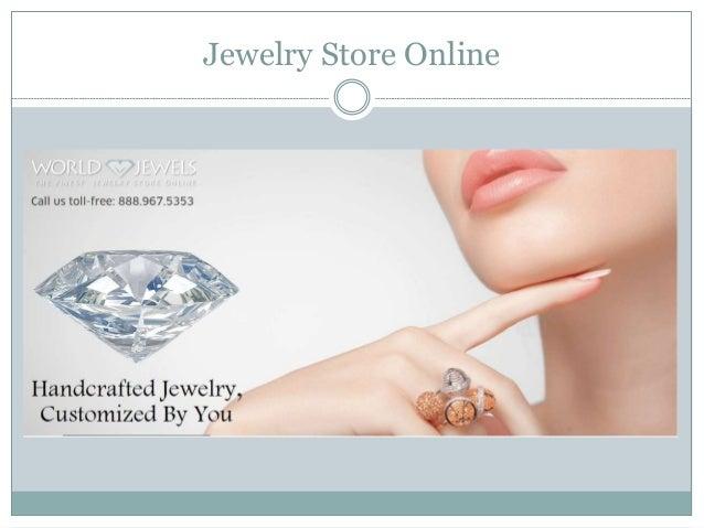 Jewelry Store Online -www.worldjewels.com Slide 2