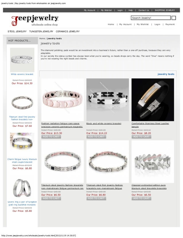 jewelry tools | Buy jewelry tools from wholesalers on jeepjewelry.com                                                     ...