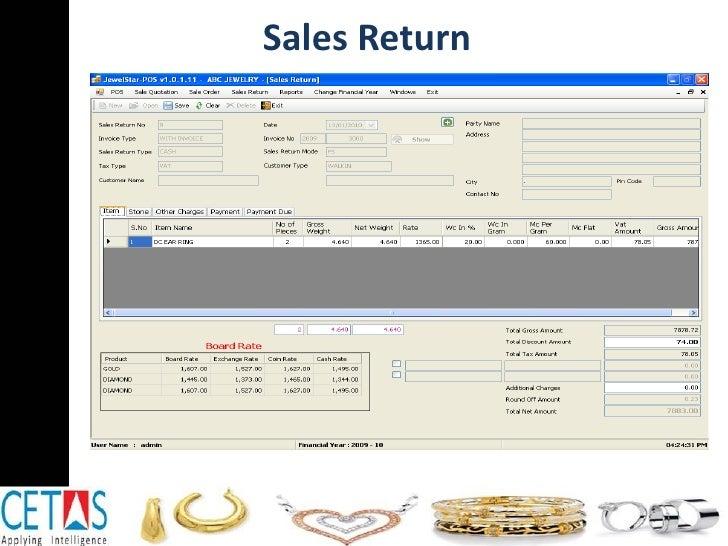 Sales Return