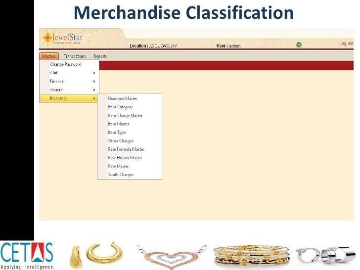 Merchandise Classification