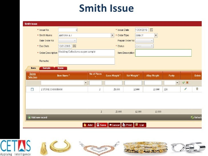Smith Issue
