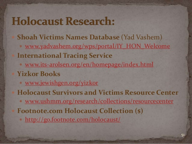 Jewish genealogical research