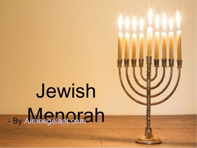 Jewish Menorah An Important Symbol In Judaism