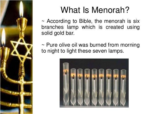 Jewish Menorah Perfect Gift Of Jewish Celebration