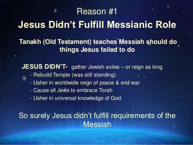 Answering Jewish objections to Jesus as Messiah