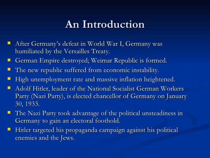 the role of the national socialist party in the persecution of jews in germany The first force that we will focus on is the misnamed national socialist german workers party  youth groups and jews,  communist resistance in nazi germany.