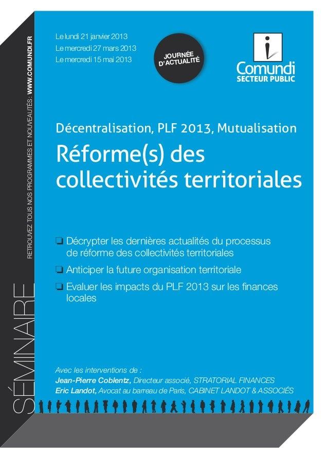 Le lundi 21 janvier 2013    retrouvez tous nos programmes et nouveautés: www.comundi.fr                                  ...