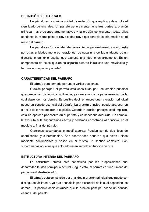 EL PÁRRAFO - Argenis Molina