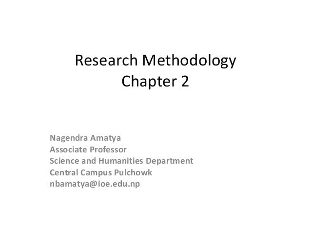 WRITING CHAPTER 3: METHODOLOGY [Qualitative Research]