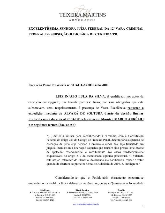 São Paulo R. Pe. João Manuel 755 19º andar Jd Paulista | 01411-001 Tel.: 55 11 3060-3310 Fax: 55 11 3061-2323 Rio de Jane...