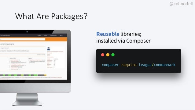 Releasing High Quality PHP Packages - ConFoo Montreal 2019 Slide 3