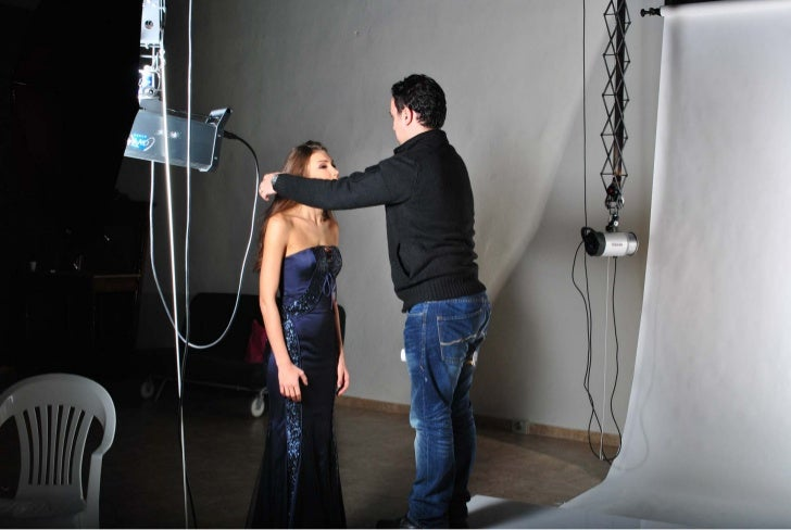 Jean Fares Pret-A-Porter, 2013 collection: Behind the scenes. Slide 2