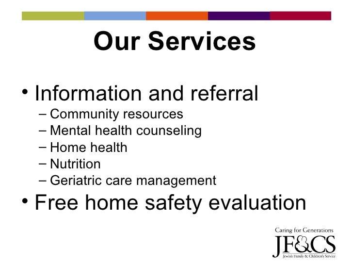 Jf&Cs Parkinsons Family Support Program