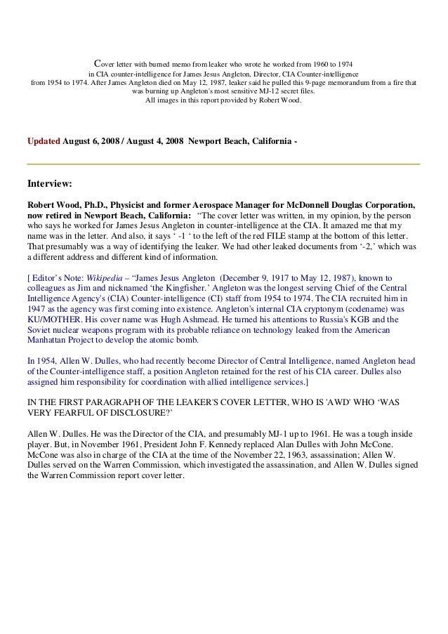 Sample Cover Letter For Non Profit Job