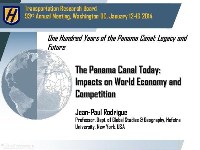 Canal do Panamá. A realidade e os mitos.