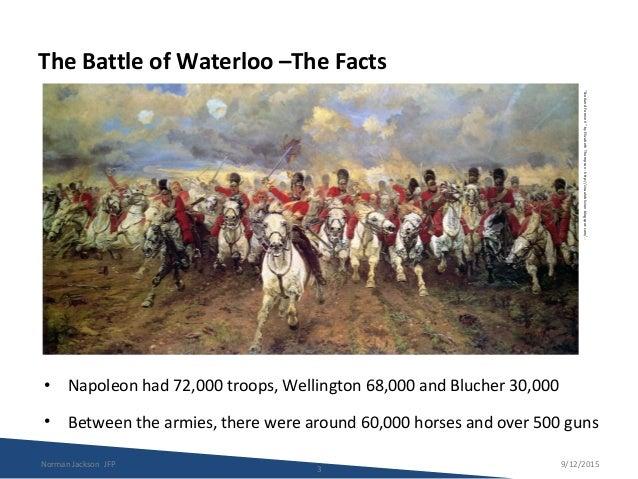 JFP -  THE BATTLE OF WATERLOO Slide 3