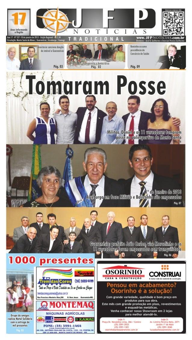 02                                          10 de Janeiro de 2013                           Política                      ...