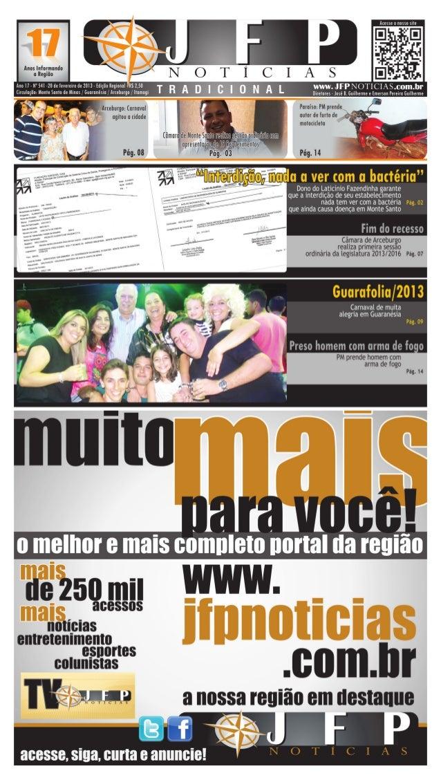 02                                      20 de fevereiro de 2013                        Saúde   Monte Santo de Minas     Do...