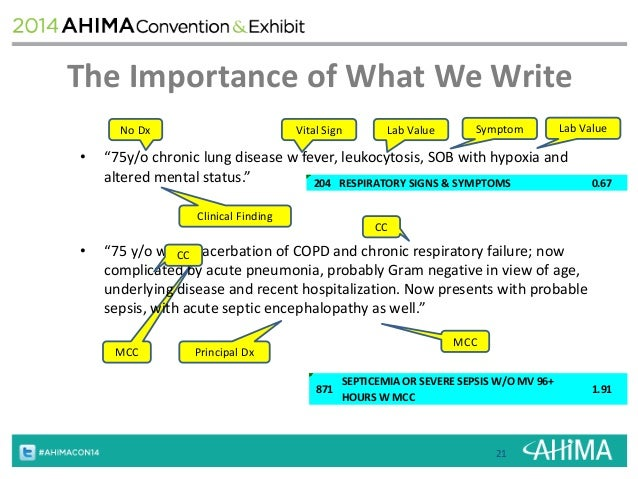 Game of documentation, Winter is coming Surviving ICD10 of Icd 10 for acute on chronic chf