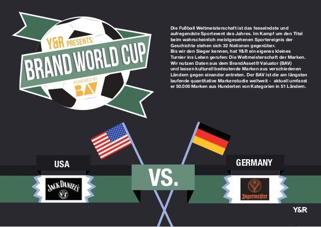 VS. USA GERMANY Die Fußball Weltmeisterschaft ist das fesselndste und aufregendste Sportevent des Jahres. Im Kampf um den ...