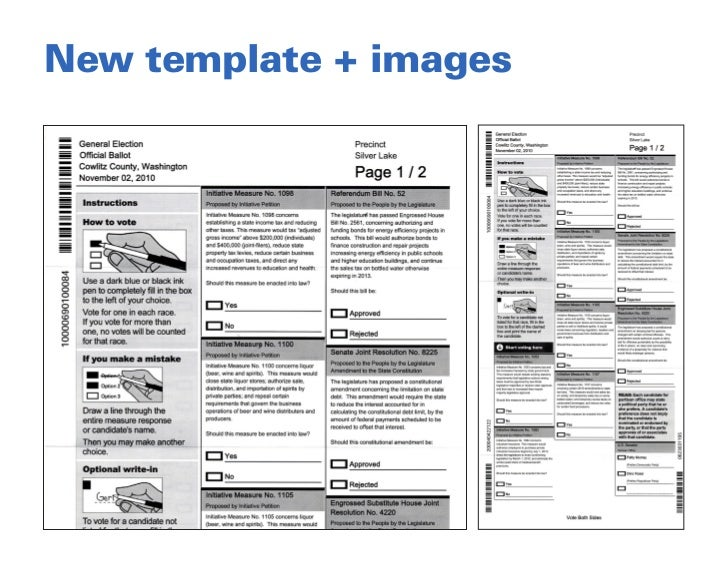 Old Fashioned Voting Ballot Template Image Collection - Examples ...