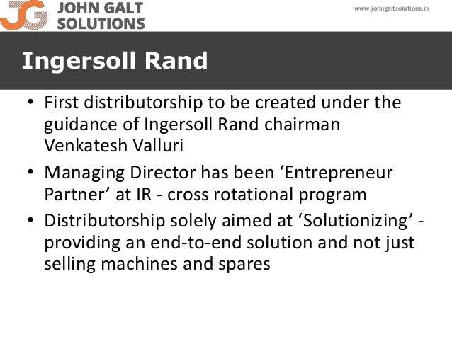 John Galt Ingersoll Rand Company Profile