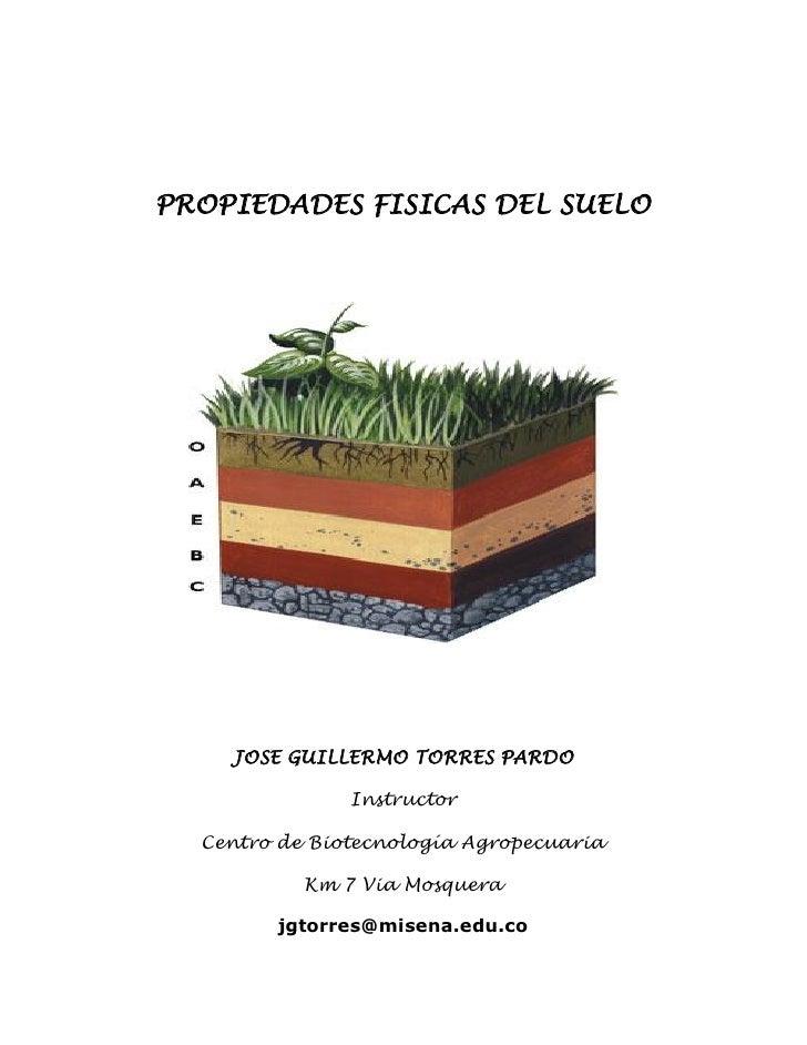 joguitopar propiedades f sicas del suelo