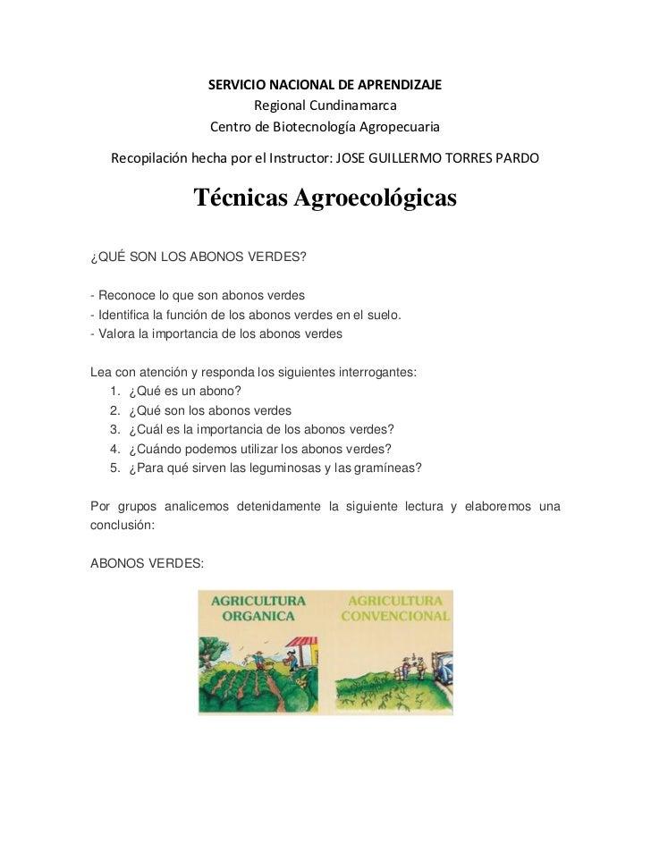 SERVICIO NACIONAL DE APRENDIZAJE                            Regional Cundinamarca                     Centro de Biotecnolo...