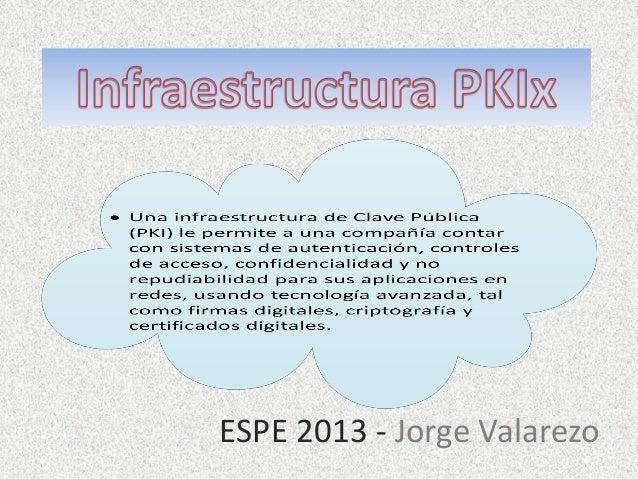 ESPE 2013 - Jorge Valarezo