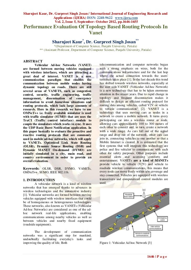 Sharnjeet Kaur, Dr. Gurpreet Singh Josan / International Journal of Engineering Research and                   Application...