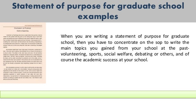 Sample Statement Of Purpose Of Any Kind For You (Sample)