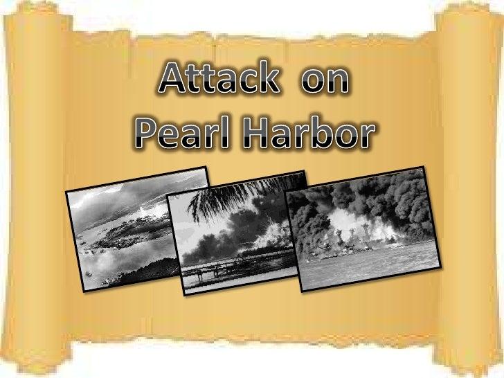 Attack  on Pearl Harbor <br />