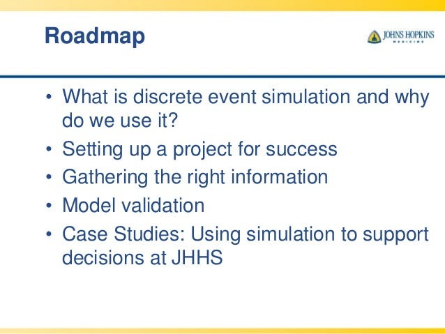 simulation study using simul8 Simulation studies allow researchers to answer specific questions about data analysis, statistical power, and best-practices for obtaining accurate results in empirical research despite the benefits that simulation research can provide, many researchers are unfamiliar with available tools for.