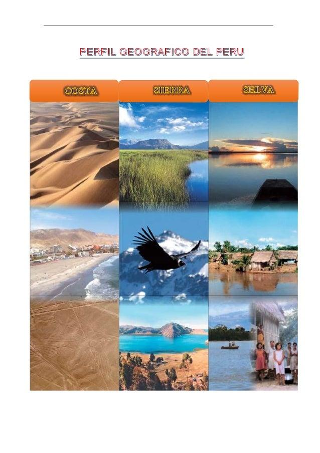 1. Ubicación geográfica El Perú se encuentra ubicado en la región central y occidental de América del Sur. Limita al norte...