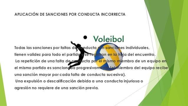 APLICACIÓN DE SANCIONES POR CONDUCTA INCORRECTA Todas las sanciones por faltas de conducta son sanciones individuales, tie...