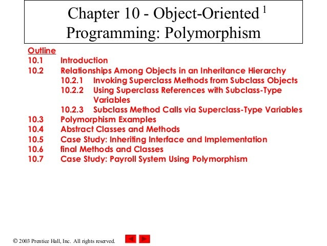 10.5 case study payroll system using polymorphism
