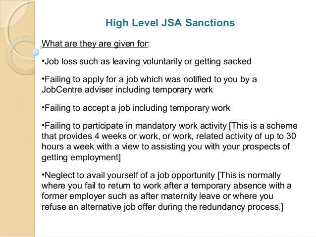 Benefit Sanctions Amp Delays Presentation At Wandsworth
