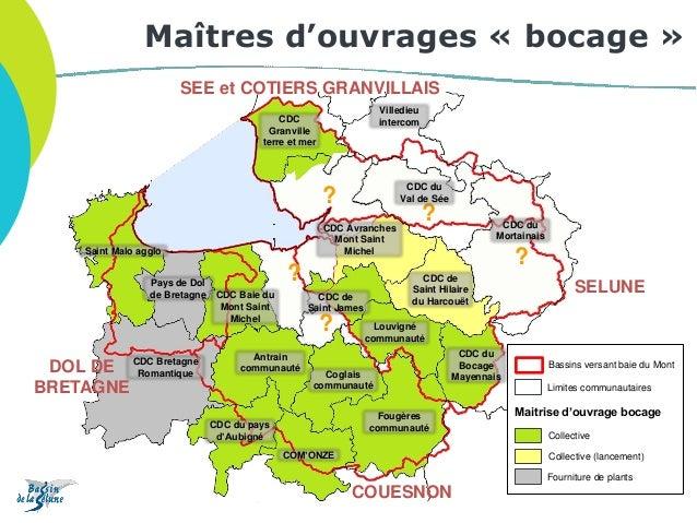 Saint Malo agglo ? ? ? SELUNE COUESNON DOL DE BRETAGNE SEE et COTIERS GRANVILLAIS ? Pays de Dol de Bretagne CDC Bretagne R...