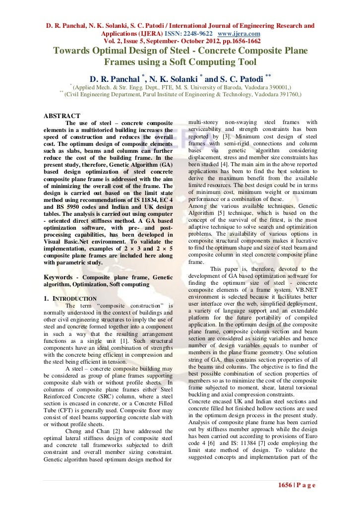D. R. Panchal, N. K. Solanki, S. C. Patodi / International Journal of Engineering Research and                    Applicat...
