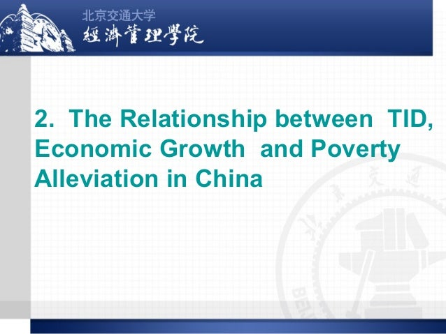 Poverty alleviation and economic development worldwide