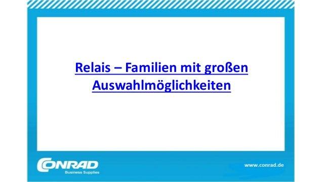 Relais – Familien mit großen Auswahlmöglichkeiten