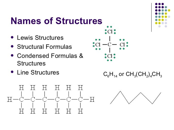 Organic chemistry line structures