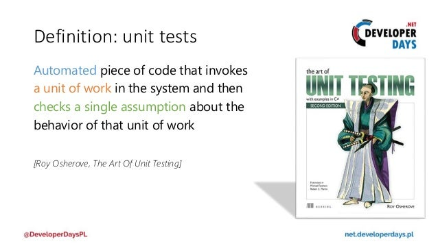 ART OF UNIT TESTING EPUB DOWNLOAD