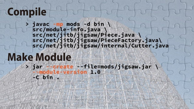 Module Programming with Project Jigsaw