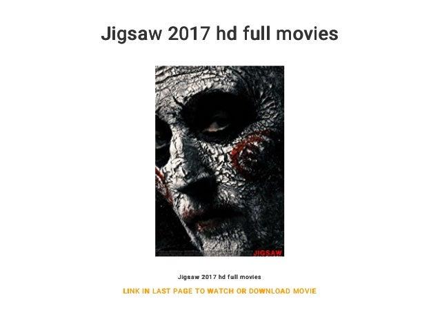 Jigsaw 2017 hd full movies